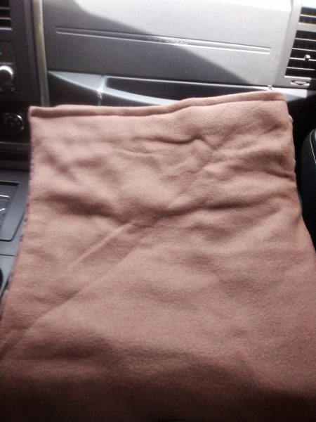 A sensory goods weighted blanket